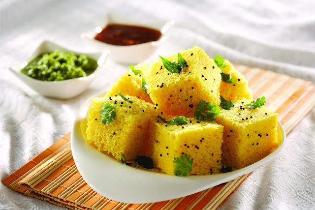 Khaman Dhokla Recipe | Kahamn Dhokla Gujrati Farshan