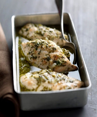 Como cocinar pechugas de pollo al horno