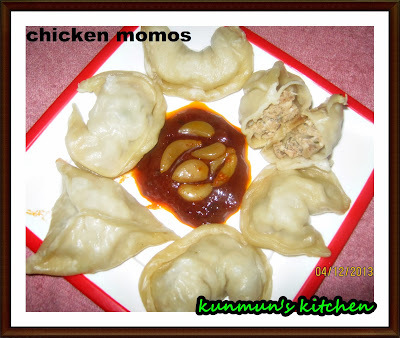 CHICKEN MOMOS RECIPE