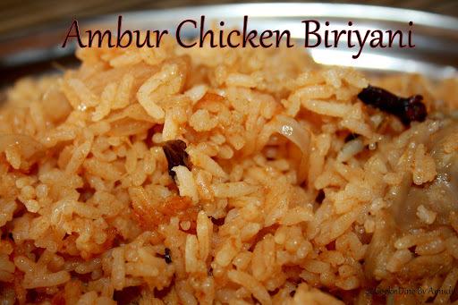 Ambur Chicken Biriyani/Dum Biriyani (Sunday Special)