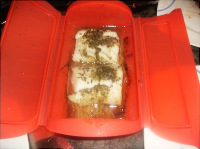 de pescado al jugo