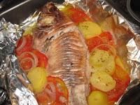 de peixe tilapia assado no forno