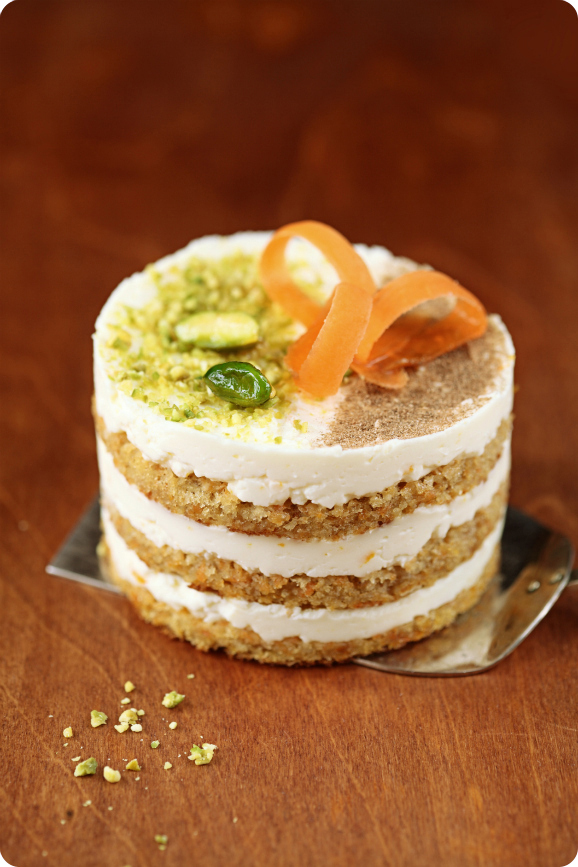 Морковные мини-тортики / Mini bolos de cenoura