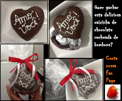 SORTEIO: Caixa de Chocolate Recheada de Bombons
