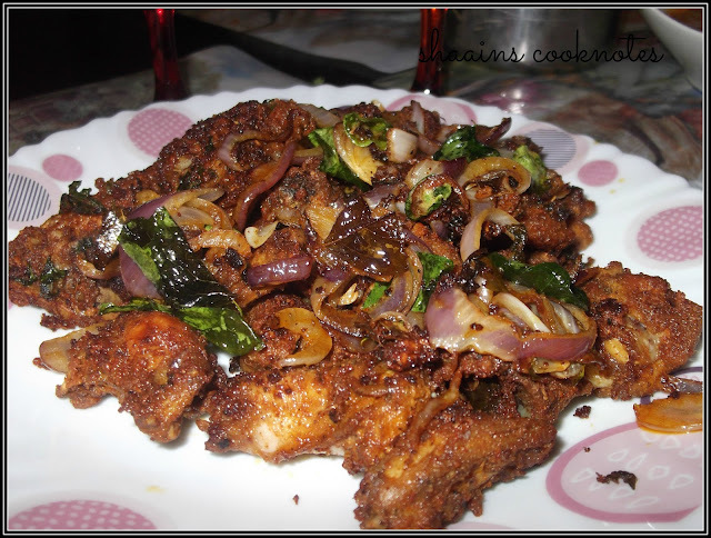 Spicy Chicken Fry (Kerala Style)