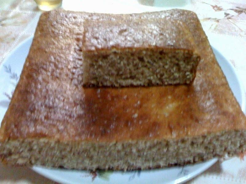 bolo de castanha portuguesa