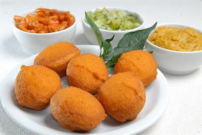 Receita de acarajé completo original da Bahia
