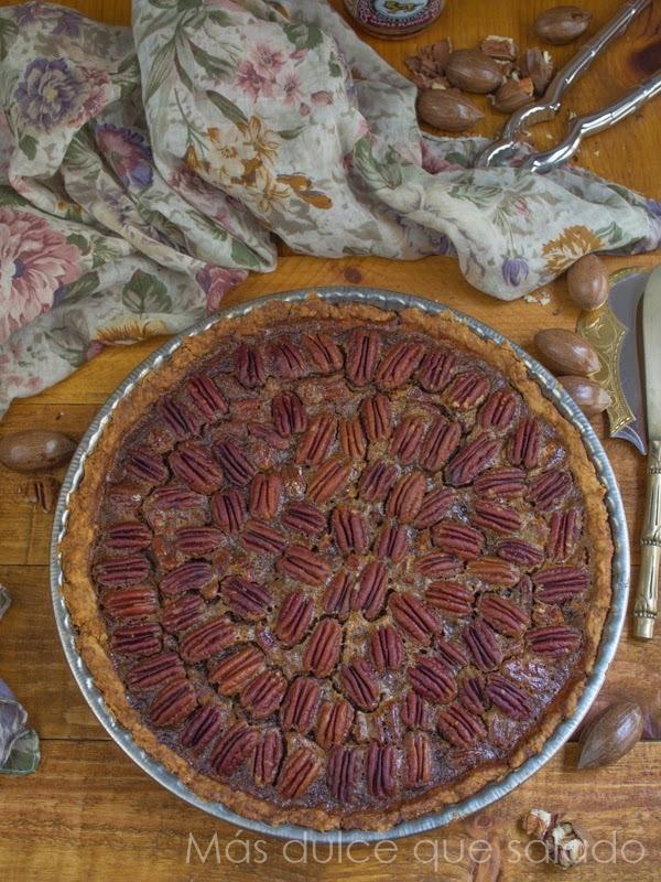 Tarta de Pecanas {Pecan Pie}