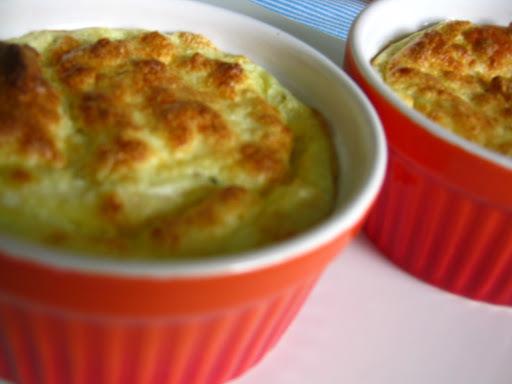 Fluffy como deve ser!!! Soufflé de queijo e palmito