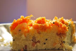 Rava Idli Cake with Coconut Chutney