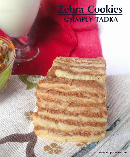 Zebra Cookies/ Marble Cookies