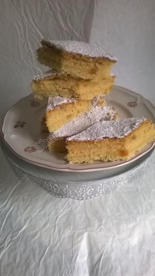 Finom sütemény kandírozott narancshéjjal