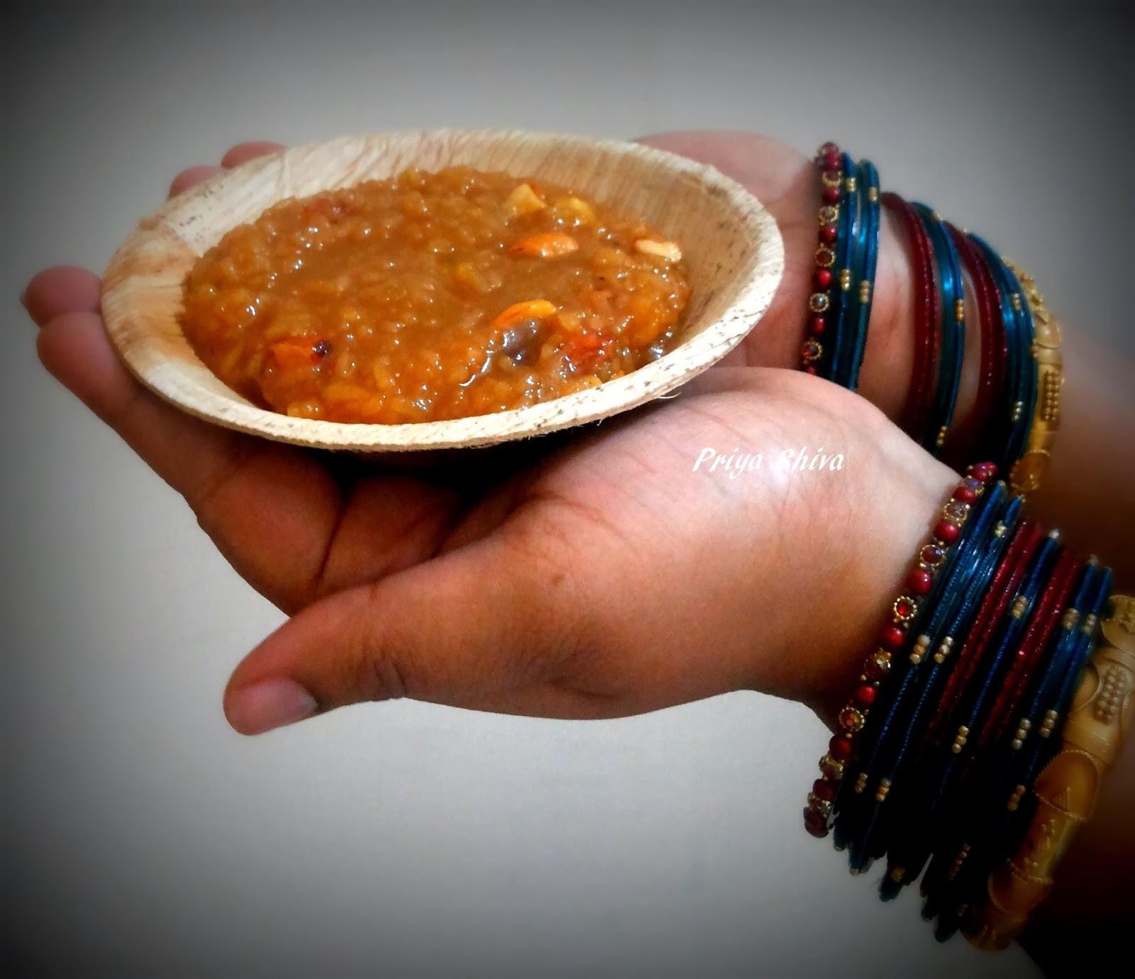 Sakkarai Pongal / Sweet Pongal Recipe