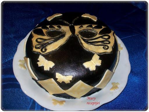 Farsangi torta. Torta készitése fázis fotókkal.