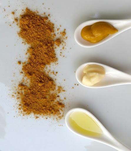 Receita: molho de mostarda e curry