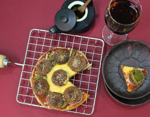 Nawabi Pizza / Pizza with a Twist