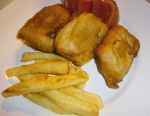 Fish and Chips (Pescado con patatas)