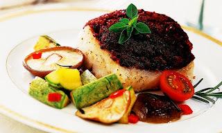 Peixe com Azeitona e Legumes
