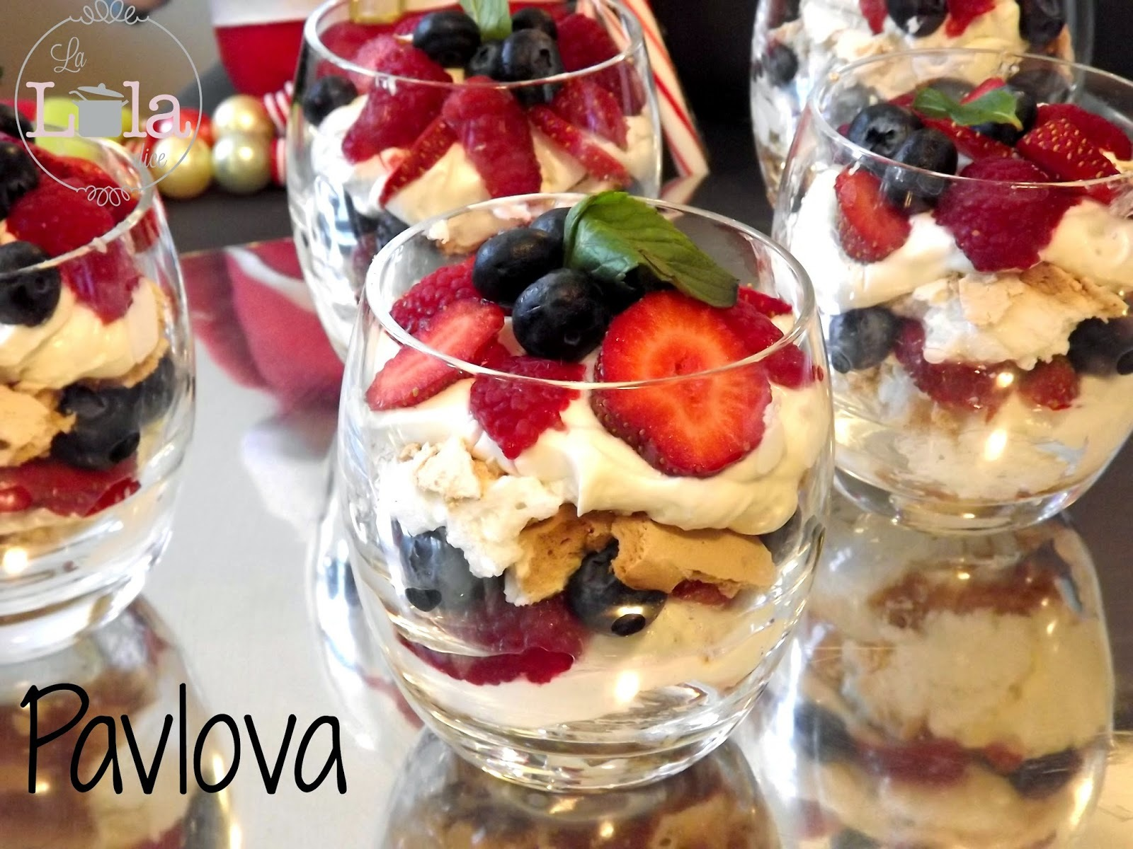 Pavlova {presentacion individual}