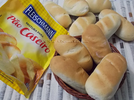 de pão caseiro com fermento biologico seco fleischmann 10g