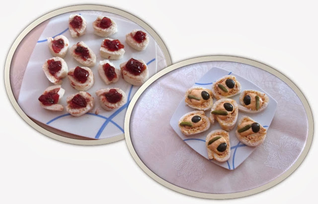 canapes caseros faciles