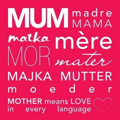 Mãe, se essa é você, ou se essa sou eu, não importa, o que eu quero mesmo é te desejar, a mim também, dias muito felizes!