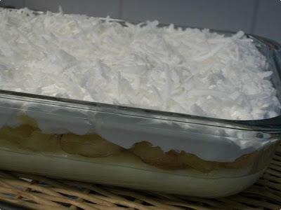 gelinho de coco cremoso
