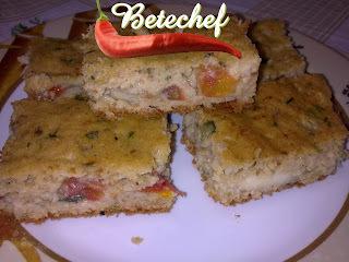 TORTA DE CASCA DE CHUCHU COM  AVEIA