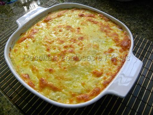 suflê de legumes facil