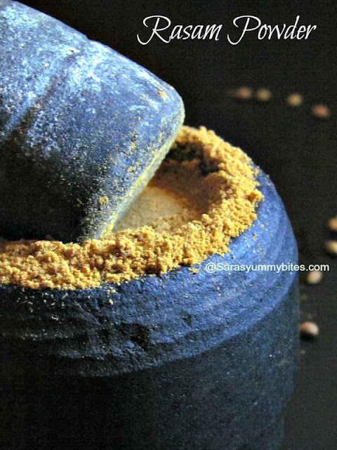 Rasam Powder / South Indian Rasam Powder
