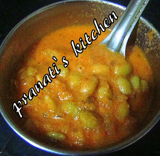Butterbeans curry southindian style: