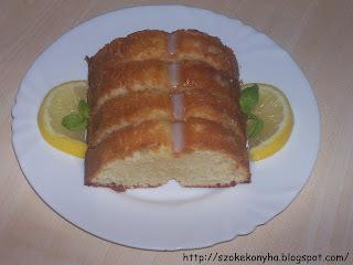 citromos kefíres süti