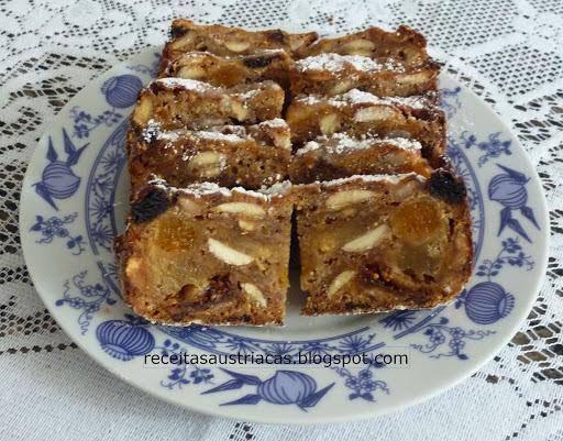 Pão de Peras e Figos - BIRNENBROT