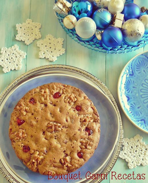 Recetas de Navidad. Fruit-cake sin gluten