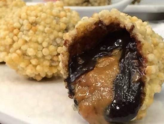bolinho de arroz doce frito