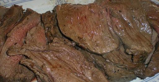 Alcatra assada no forno