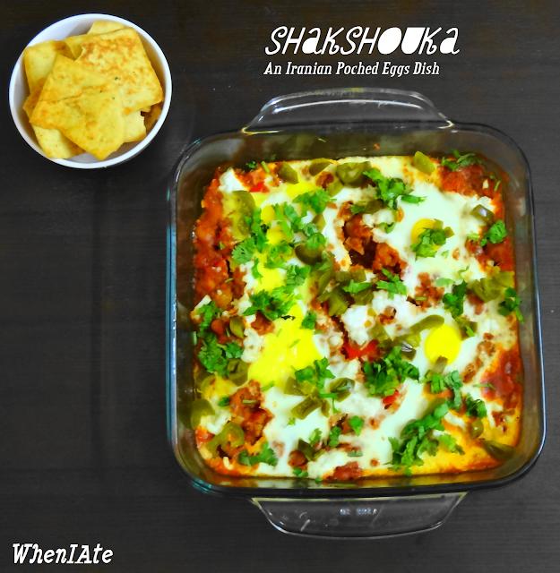 Shakshouka / Poached Eggs in Tomato Sauce