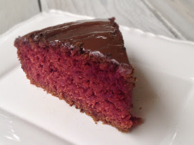 Bolo vermelho ( vegano)