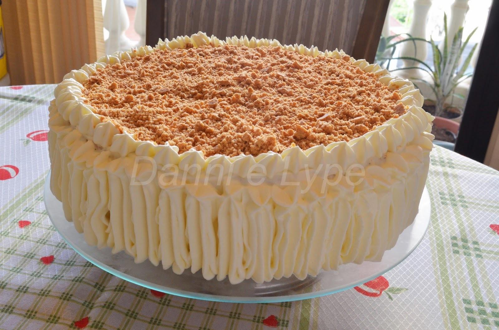 recheio de bolo com pasta de amendoim