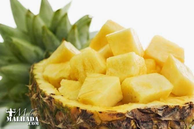 6 Razões para comer abacaxi