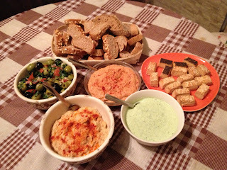 Mediterrán vacsora