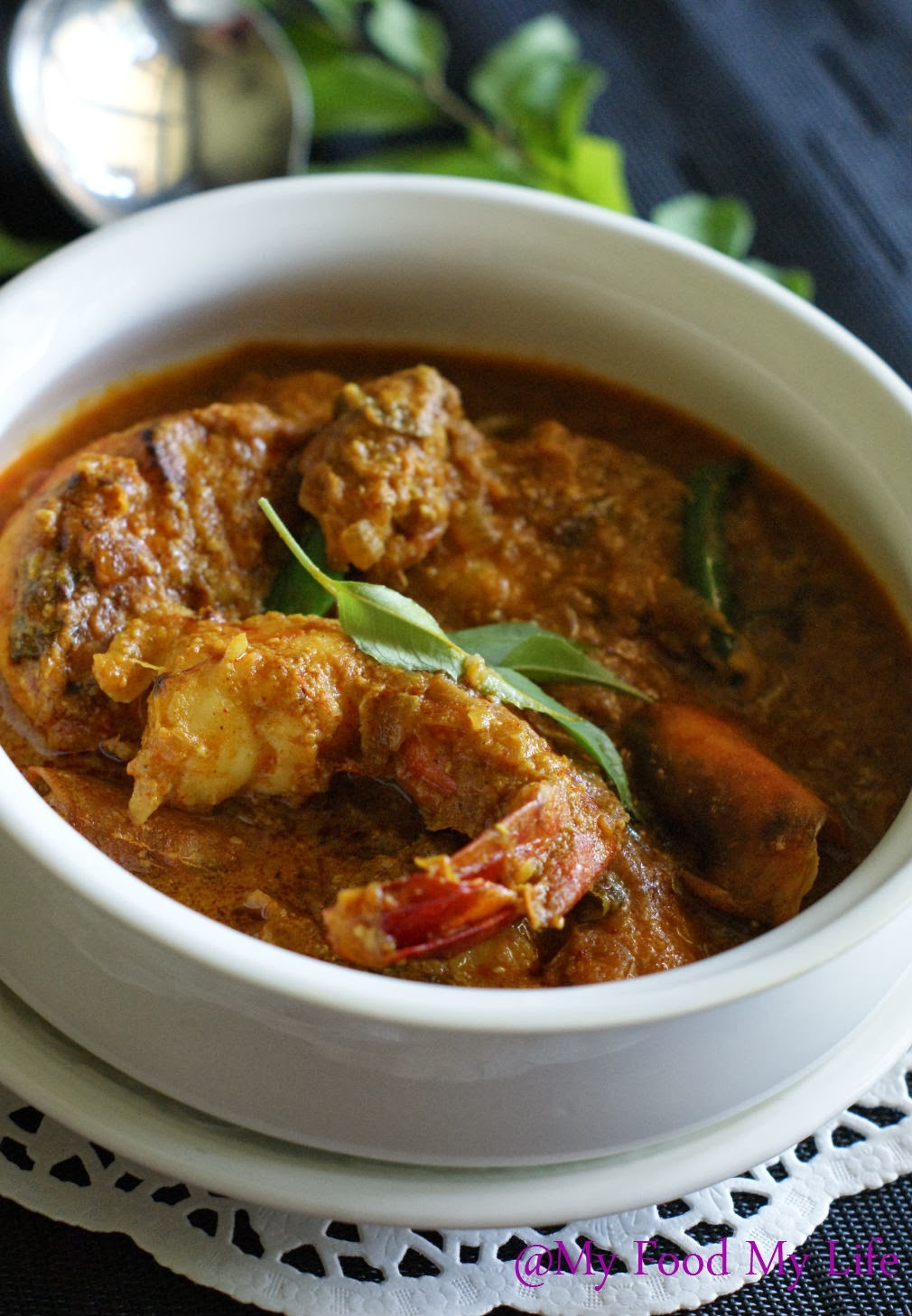 prawns curry andhra style