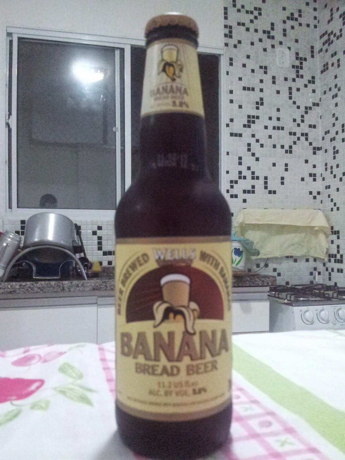 NOVA DEGUSTAÇÃO - CERVEJA WELLS BANANA BREAD BEER
