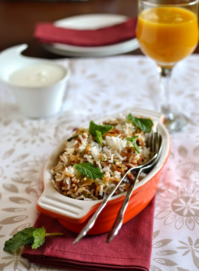 Tamil Nadu -- Chettinad Vegetable Biryani