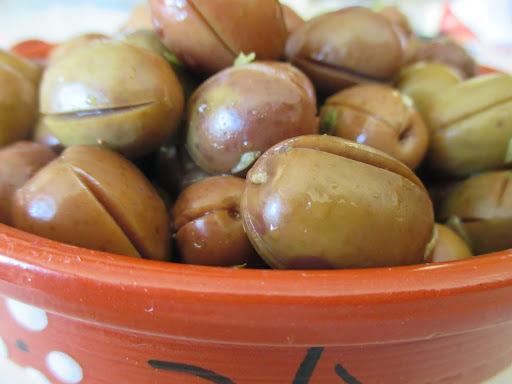 como curtir azeitonas para comer
