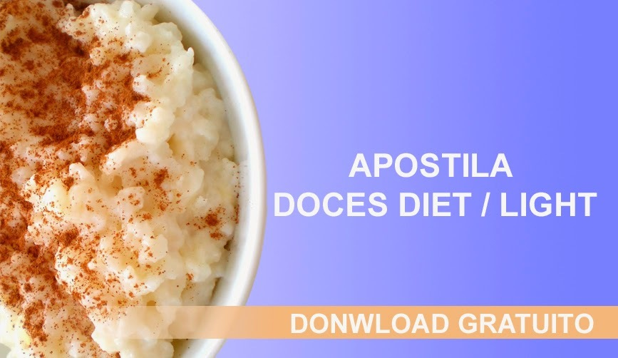 Apostila de Doces Light / Diet
