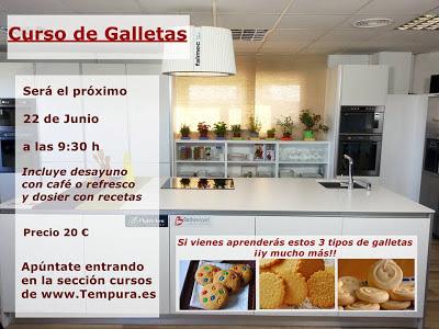 Curso de elaboración de galletas en Murcia