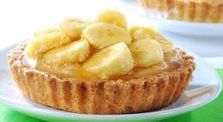 FAÇA & VENDA - Mini-tortinhas de banana caramelizada