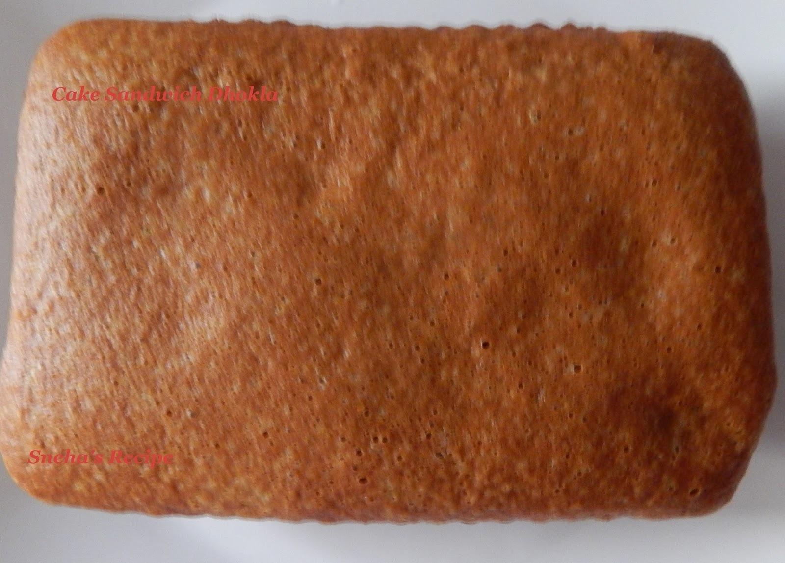Cake Sandwich Dhokla