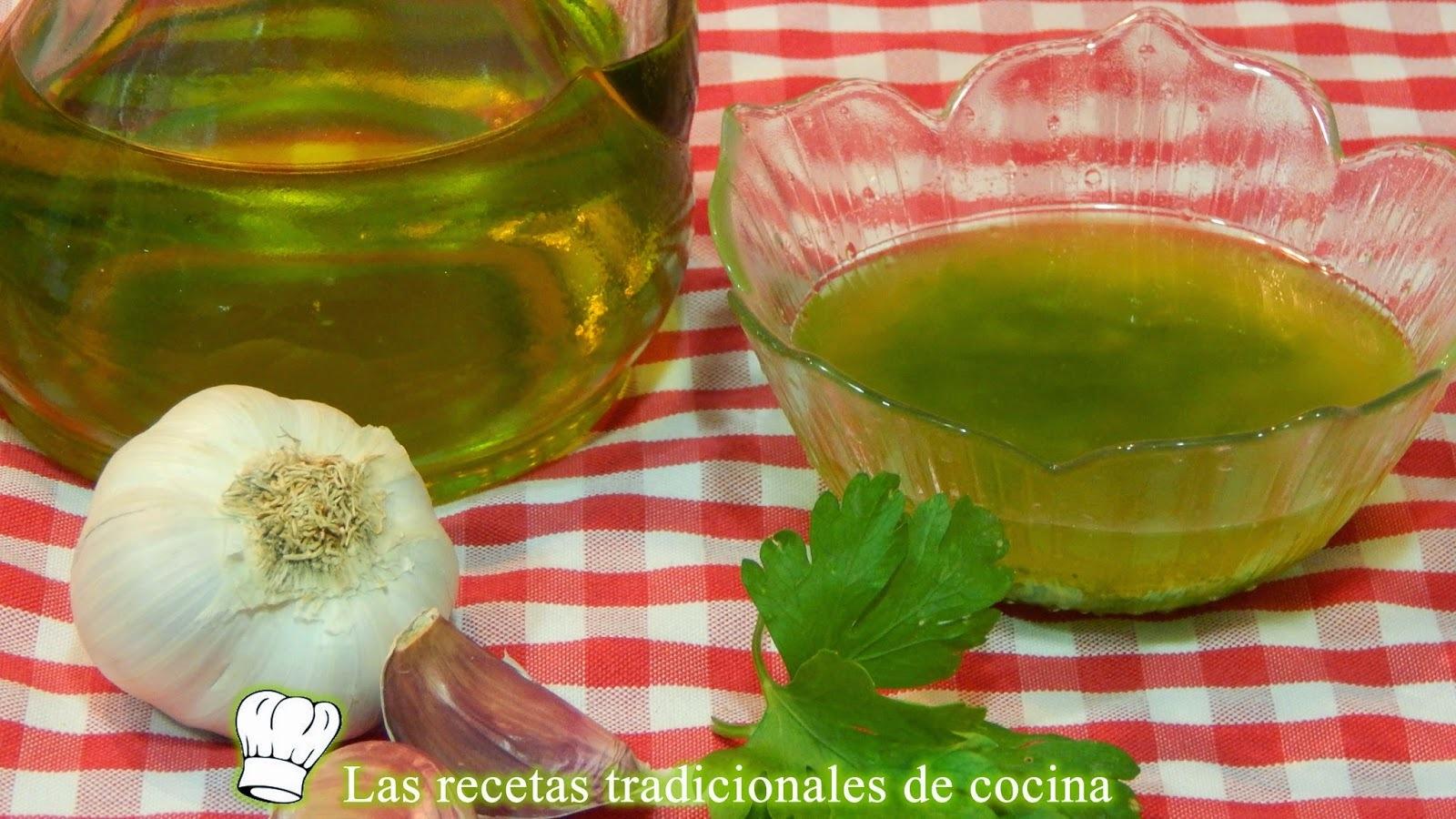 Receta de la salsa mery o salsa de perejil